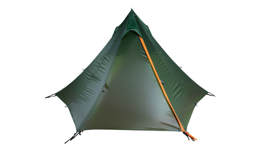 Nigor WickiUp 3 Tent willow bough/burnt orange